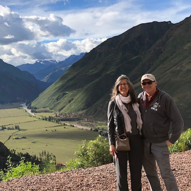 Hola de los Andes from ACNJ founders Dr Peter Kadar and Lisa Brick exploring the high altitude mountains, people, and unique culture of #Peru off to #machupicchu next!