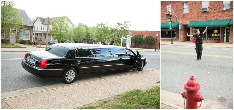 You know your a big deal when the head of the towns police department stops traffic so your limo can make its exit!