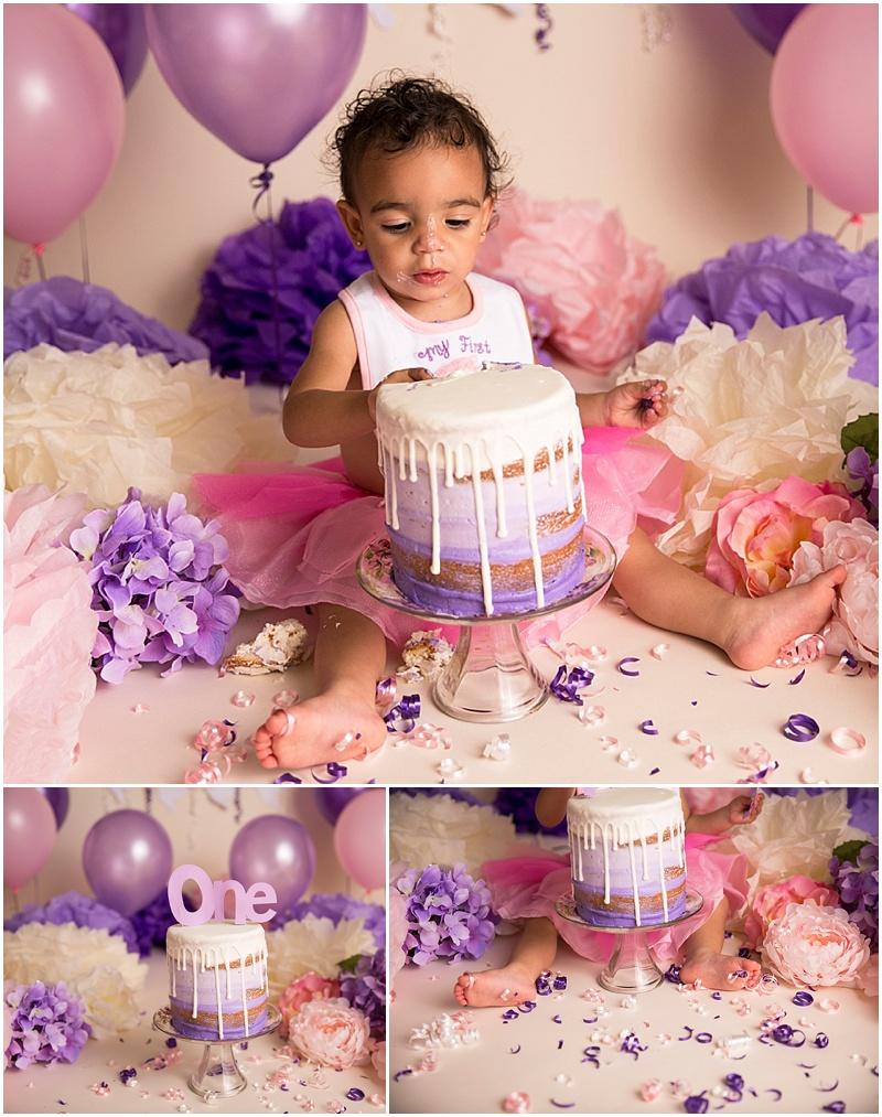 Stephanie Tignor Photography | Fredericksburg VA Cake Smash Photographer | Warrenton VA Cake Smash Photographer | Stafford VA Cake Smash Photographer | Cake Smash Photographer