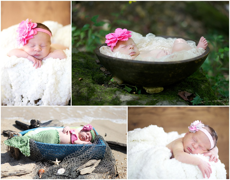 Your newborn shoot!! Mommy was still learning so no judging lol!