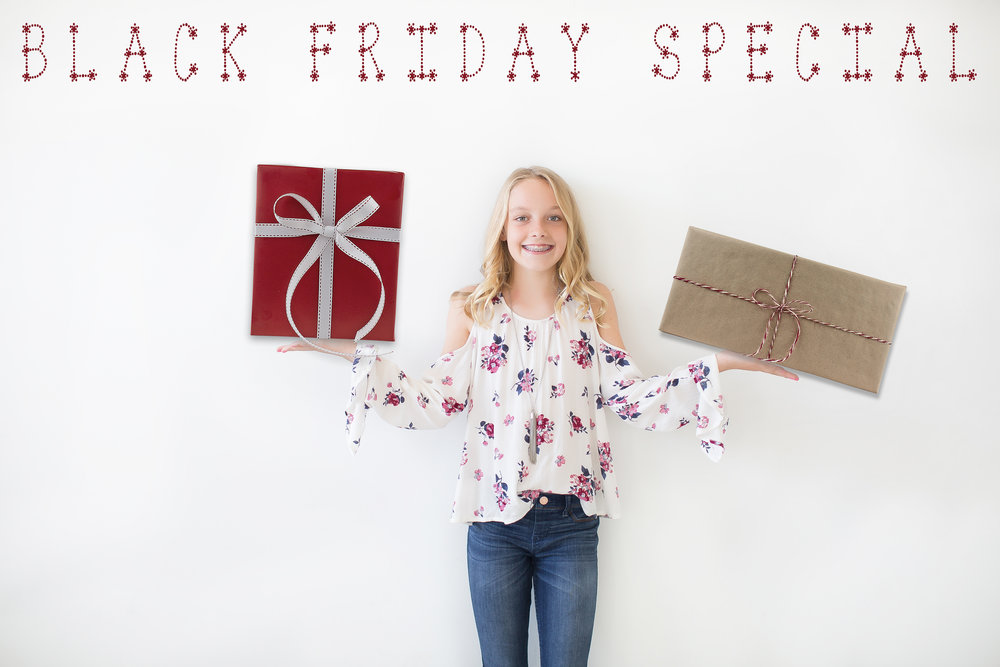 Black Friday Photoshoot special The Woodlands Texas