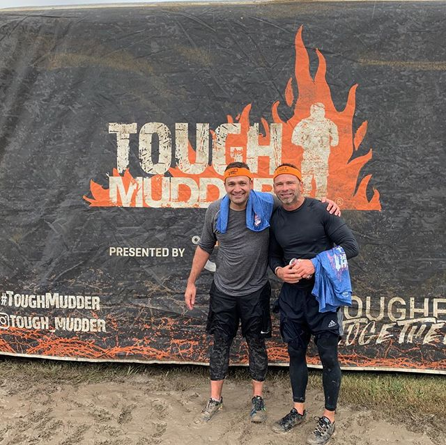 Way to go @jacourtney30!!! 4th @tough_mudder finish!  This one was the coldest one by far 💪🏼!!! #crazybutfun #brrrrr #iwontdoit #noway #waytogo #toughmudder2018