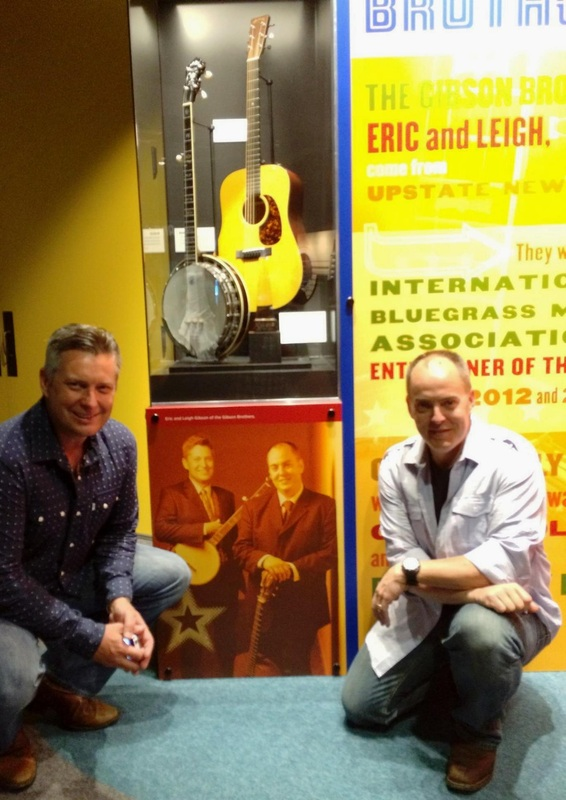 Visiting our exhibit at the Country Music Hall of Fame and Museum in Nashville, TN.