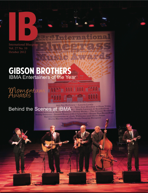 IBMA Entertainers of the Year 2012