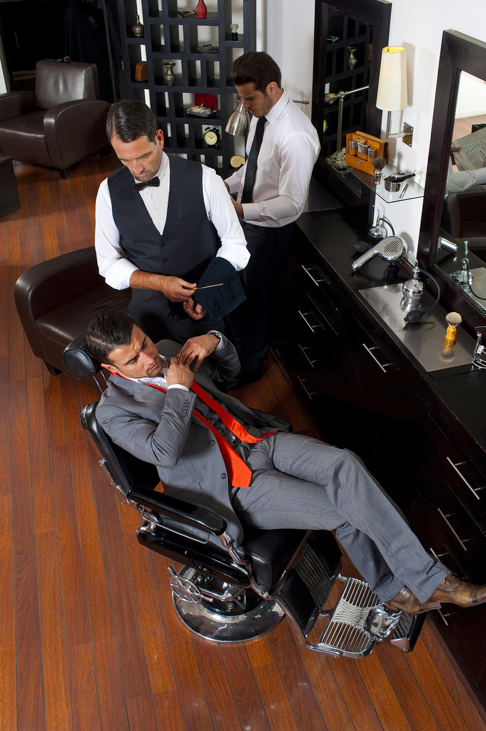 Salon barbier -Barbclub