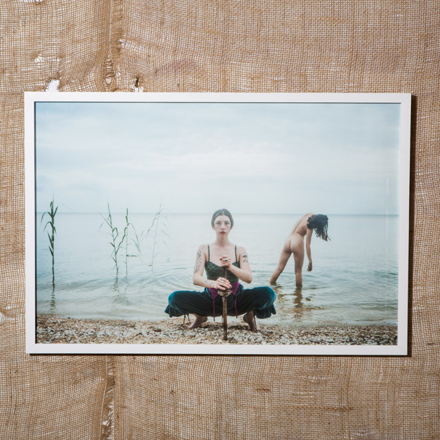 Nadia & Sibylle, Lake Pontchartrain, 2017