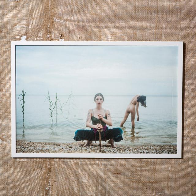 Nadia & Sibylle, Lake Pontchartrain, 2017
