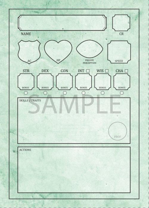 creatures 5e pdf