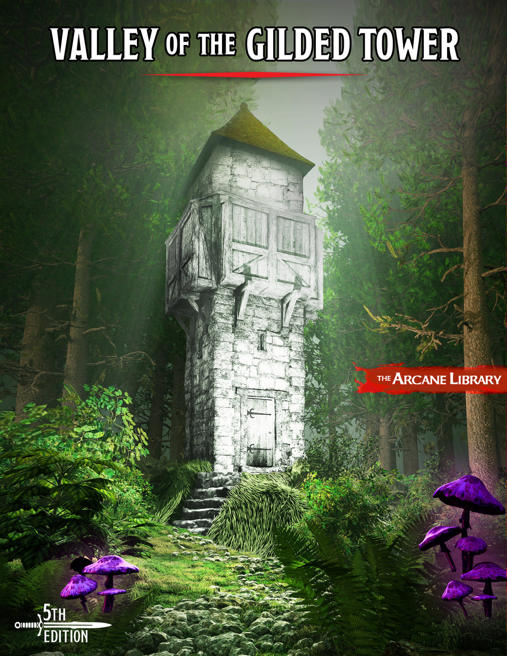 Valley of the Gilded Tower Cover