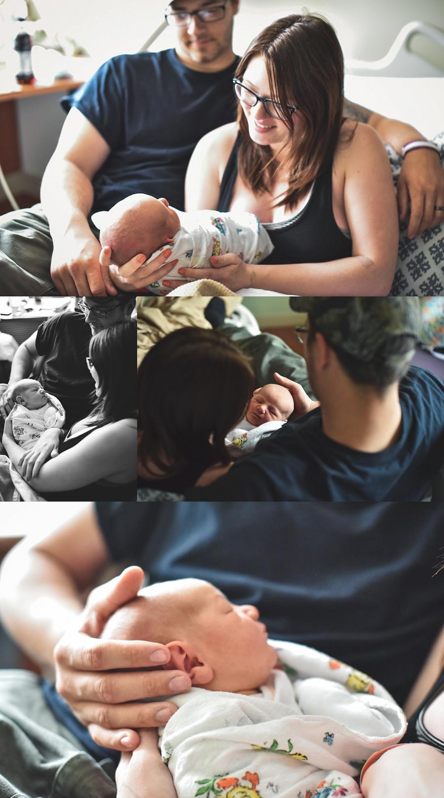 Oregon Birth Story Photographer Nicole Briann Photography Hudson Birth Story + Fresh48