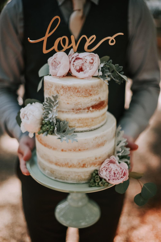 romantic oregon forest wedding