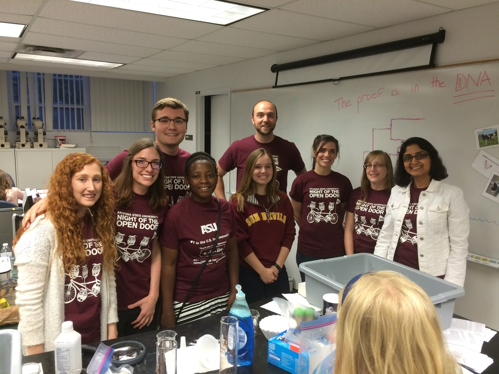 Wilson Sayres lab, DNA extraction team