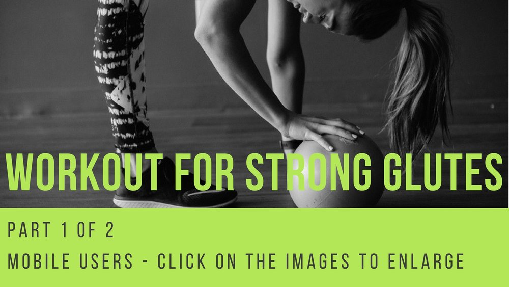 strong glutes workout