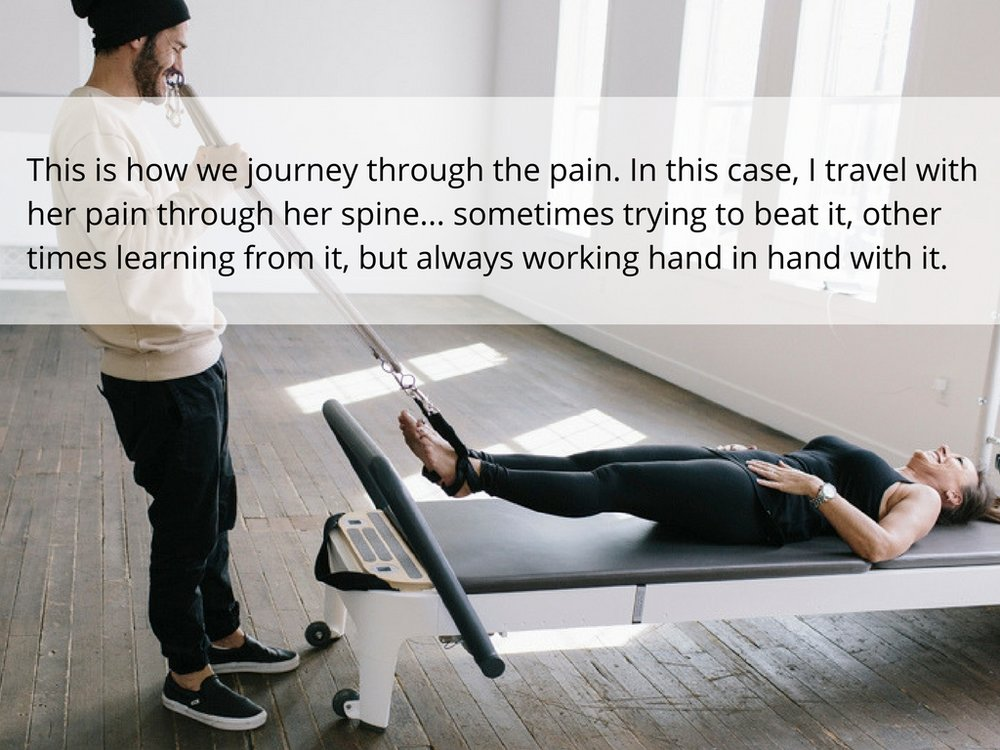 journey through pain with plus movimiento