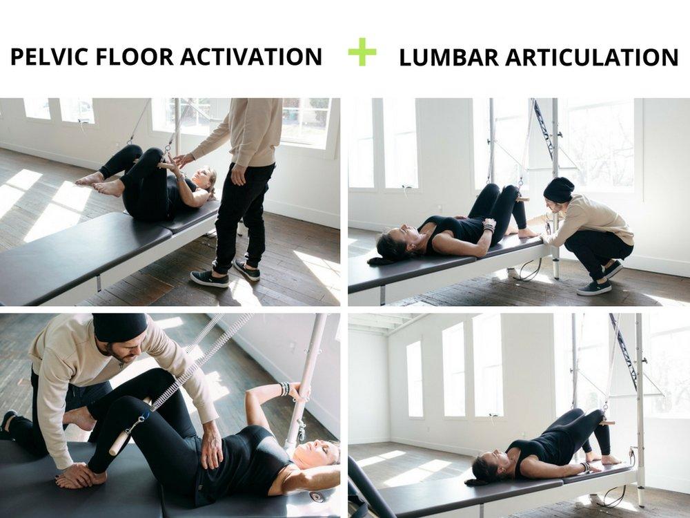 + lumbar articulation with plus movimiento