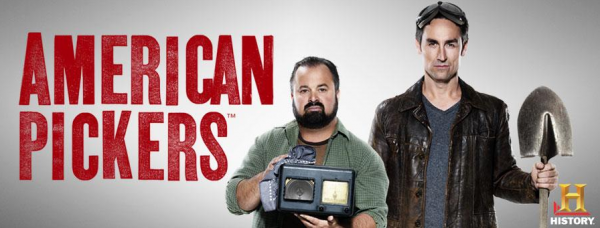 American Pickers: Frank Fritz and Mike Wolfe, photo found on Google