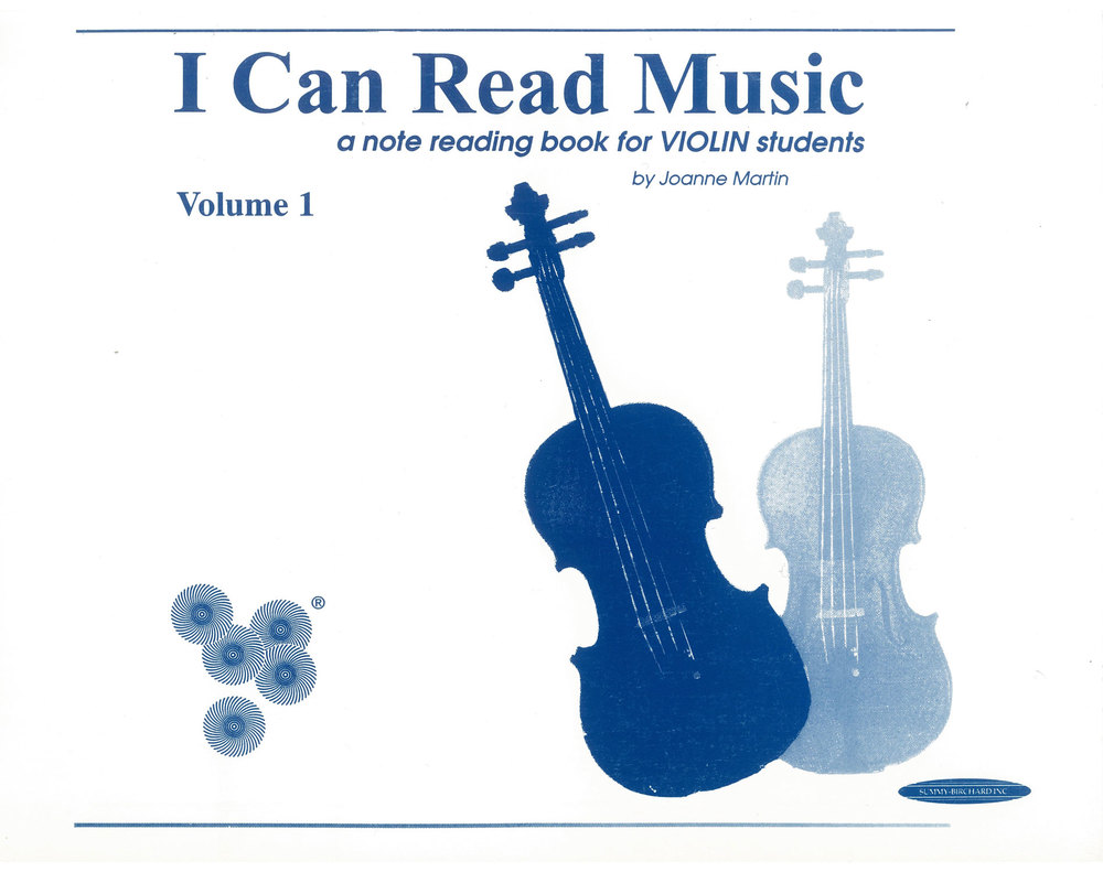 I Can Read Music for Violin
