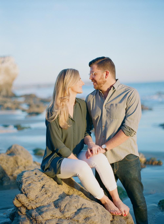michellebeller.com | El Matador State Beach Engagement Shoot in Malibu | Michelle Beller Photography