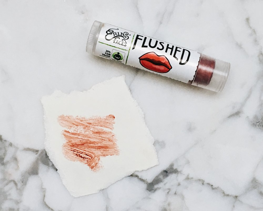 """Flushed"" Tinted Lip Balm by Erin's Faces"