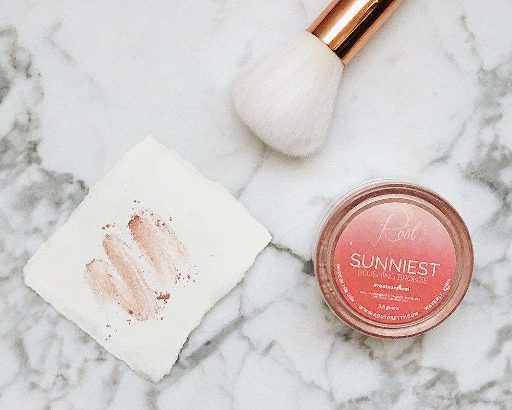 """Sunniest"" Blushing Bronze by Root"