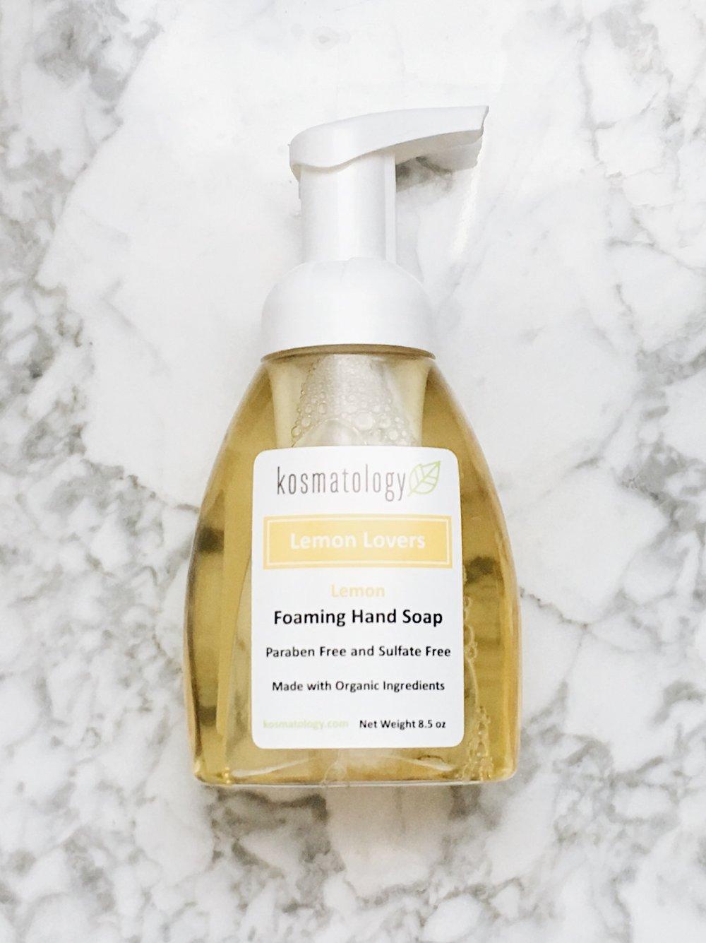 """Lemon Lover"" Hand Soap by Kosmatology"
