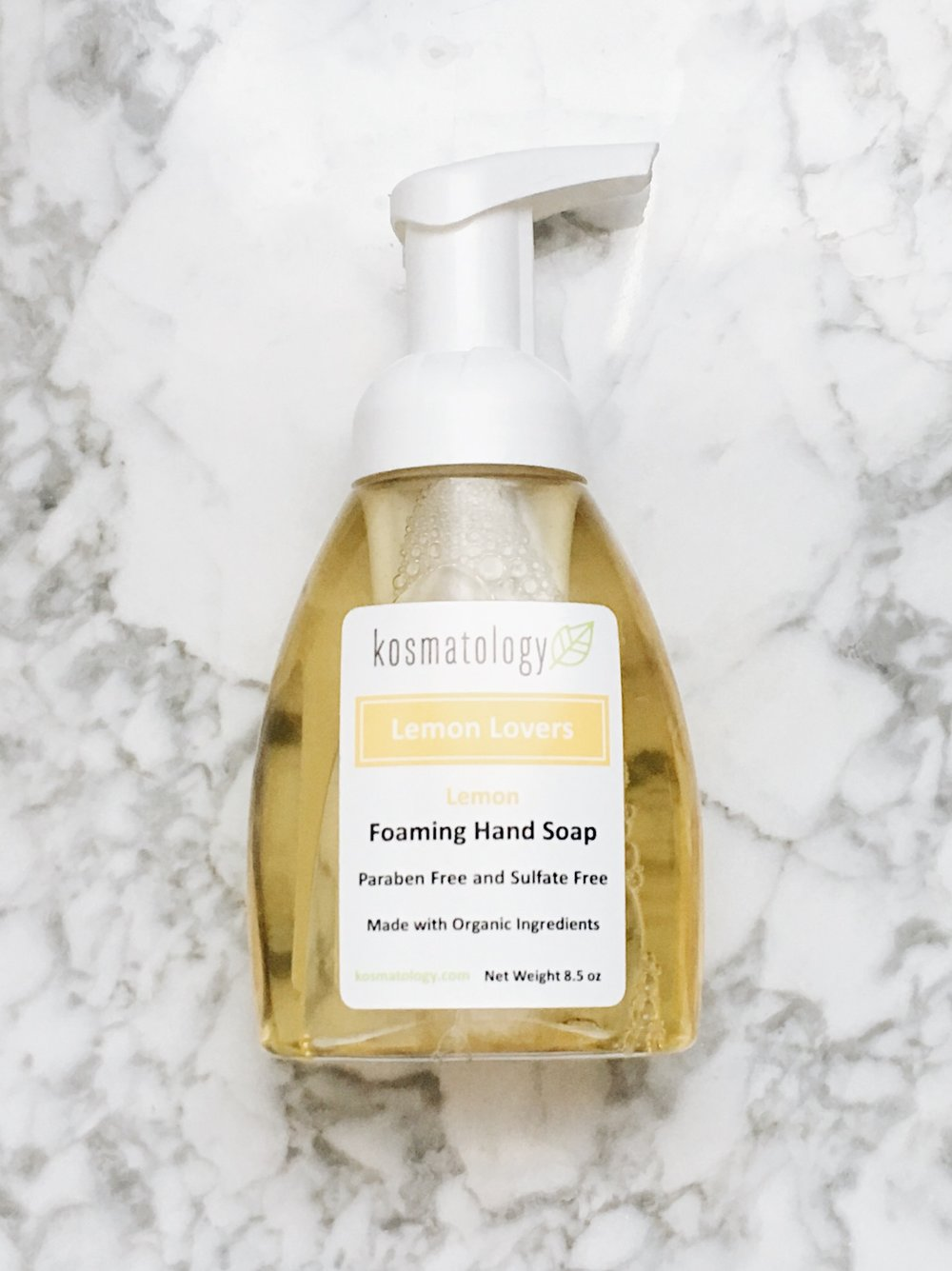 """Lemon Lovers"" Hand Soap by Kosmatology"