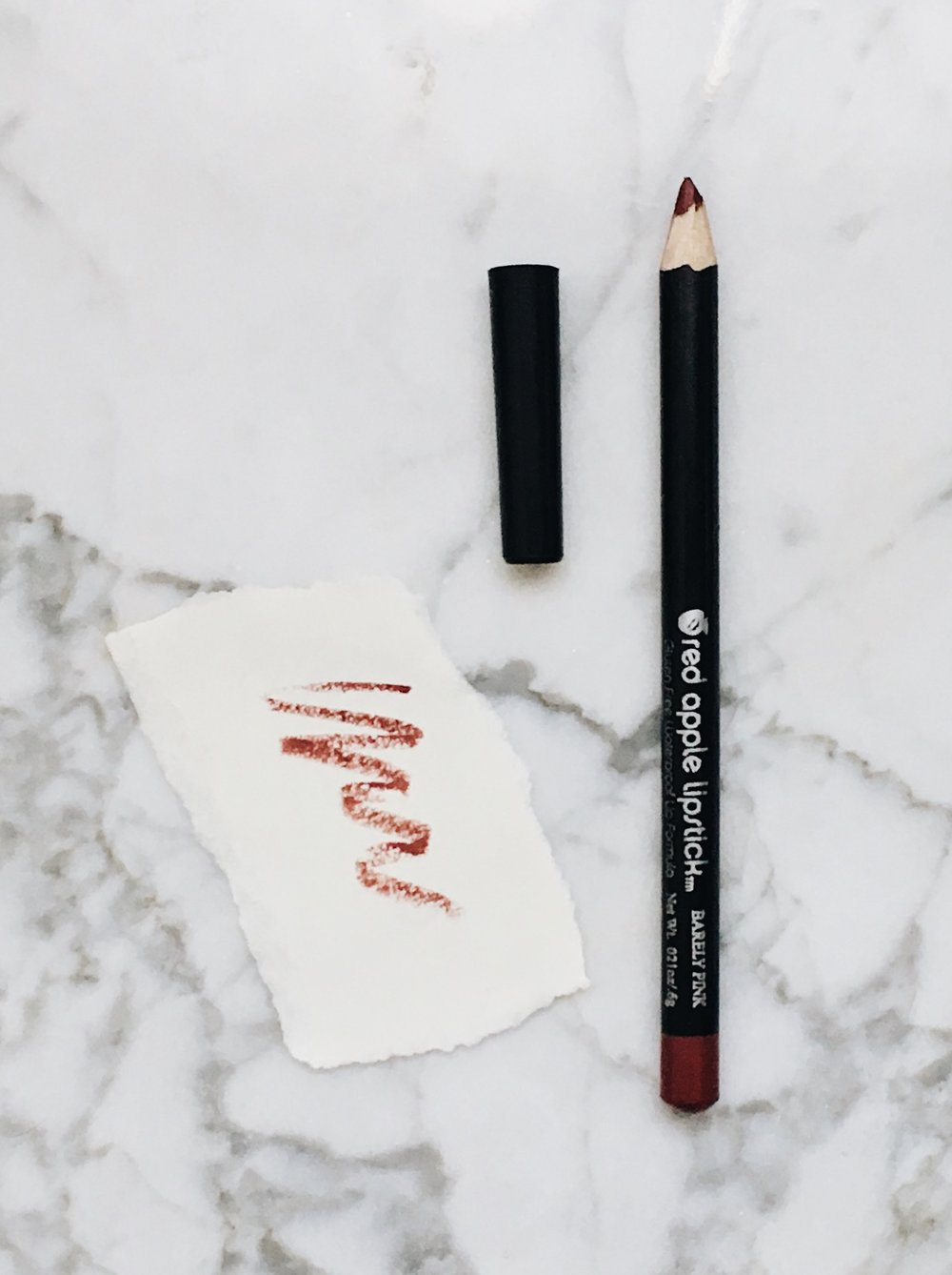 """Barely Pink"" Lip Pencil by Red Apple"