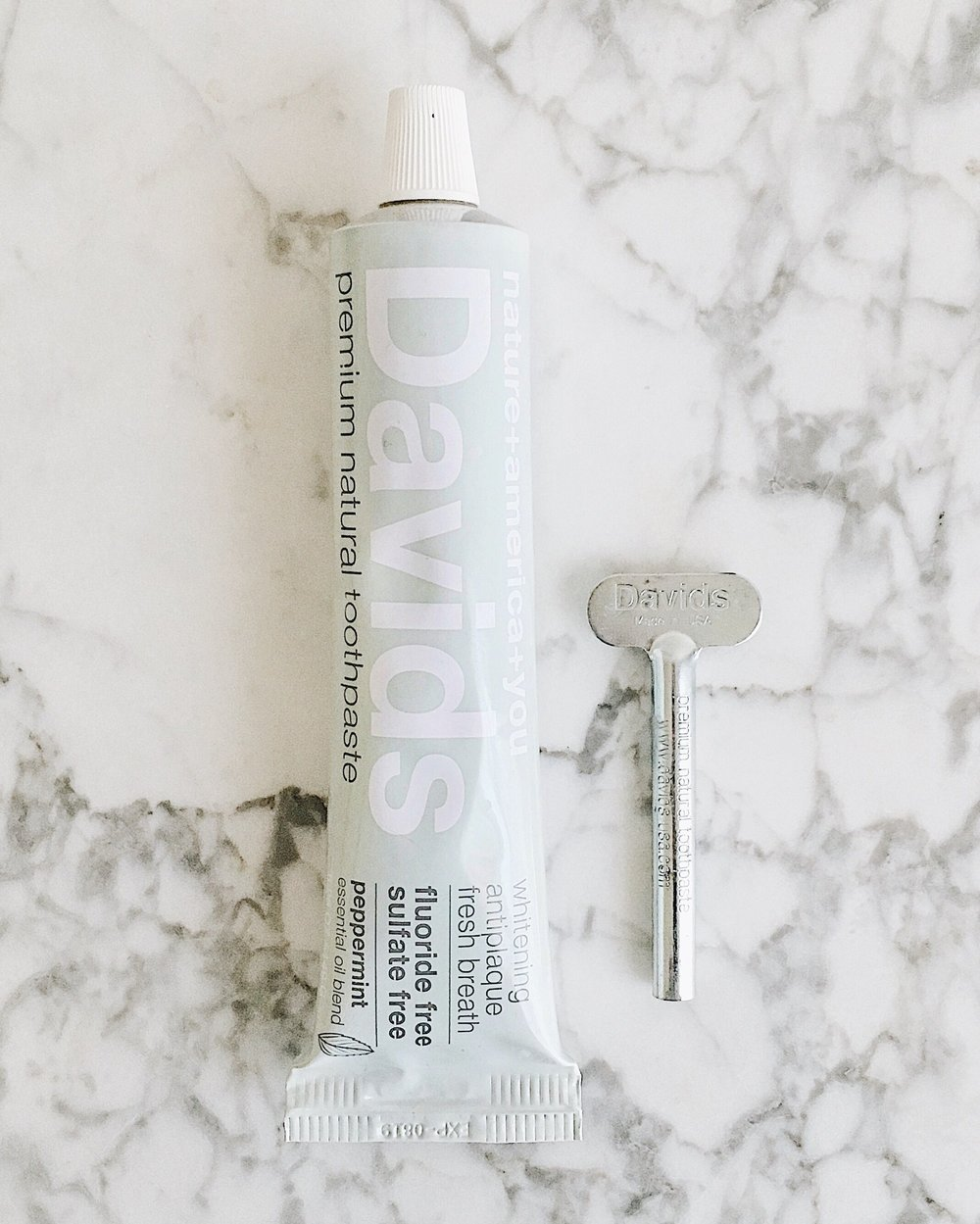 Peppermint Toothpaste by David's