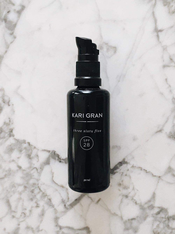 Three Sixty Five Facial Sunscreen by Kari Gran