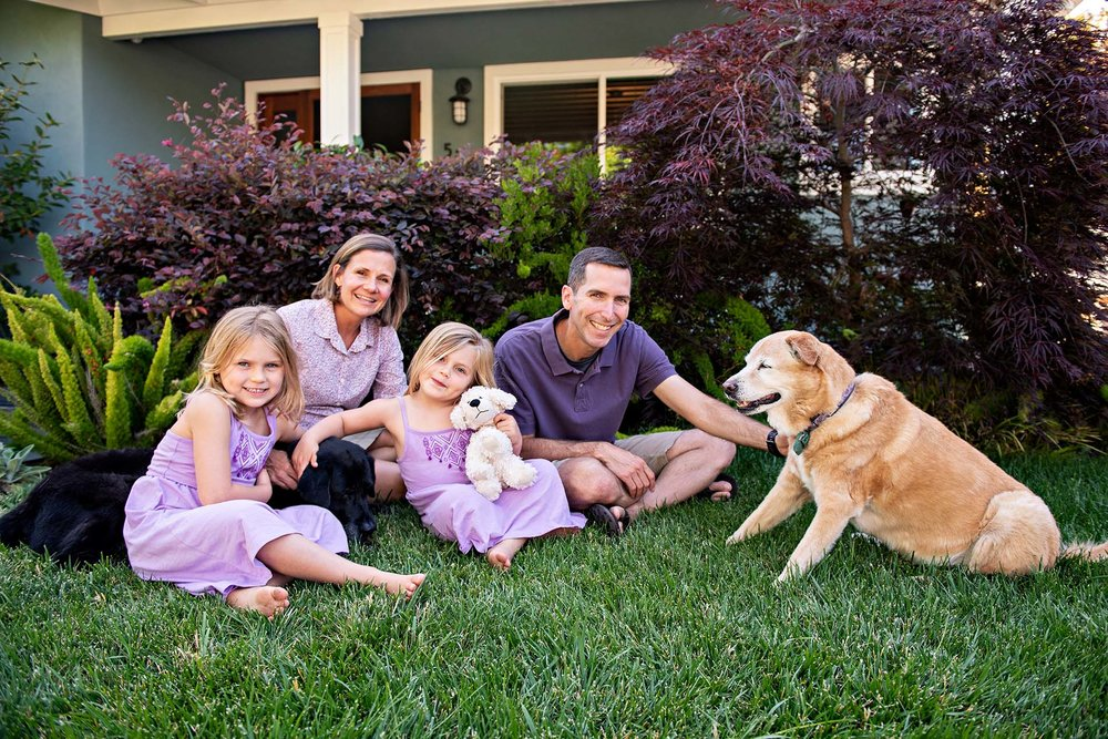 sharon kenney family photography mountain view dogs