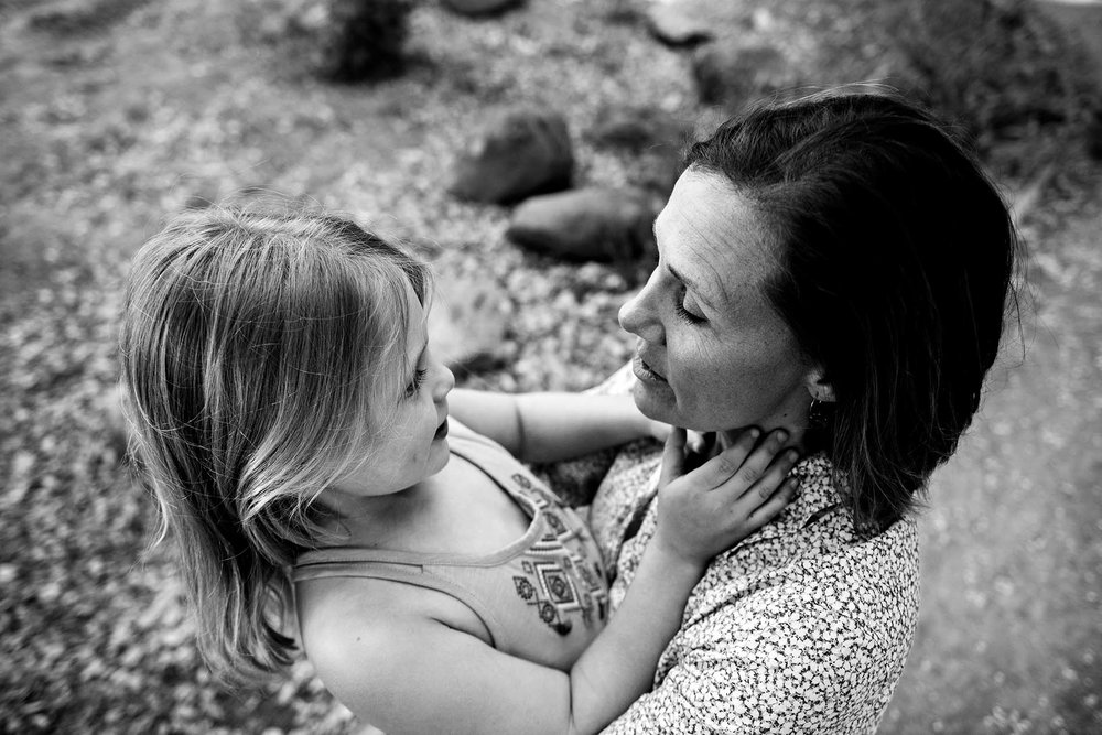 sharon kenney family photography mountain view mother daughter
