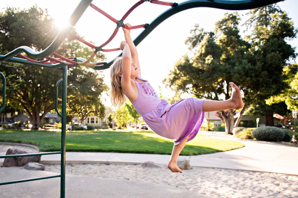 sharon kenney family photography mountain view park monkey bars