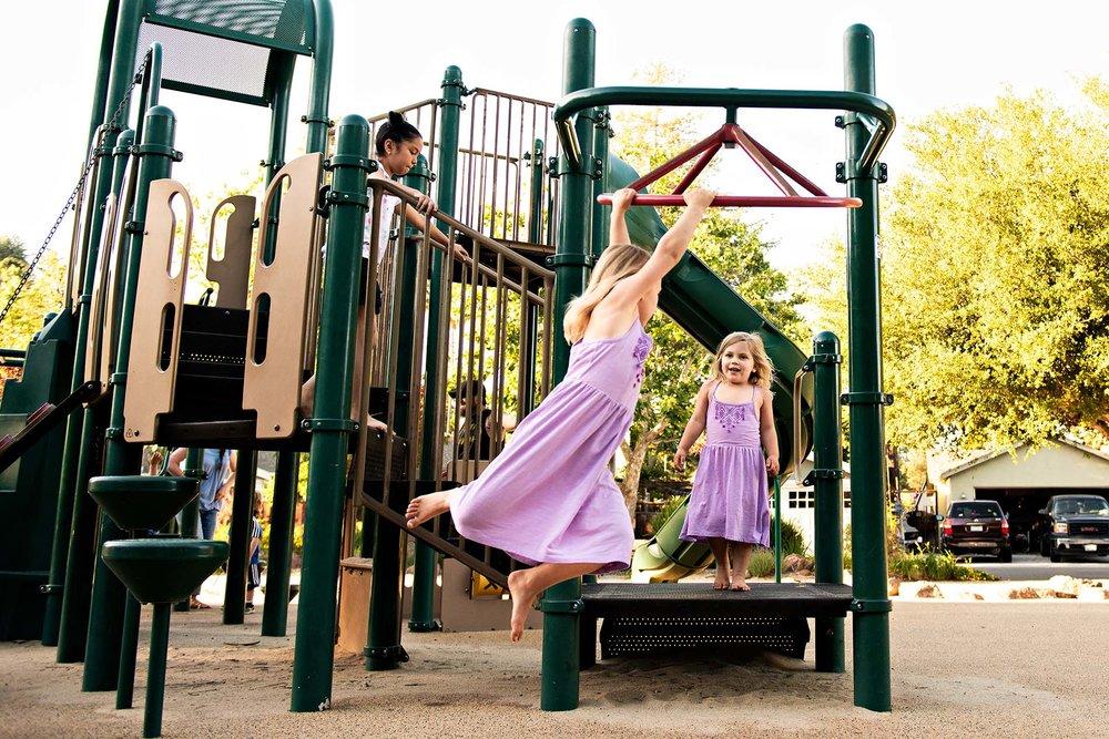 sharon kenney family photography mountain view park playground