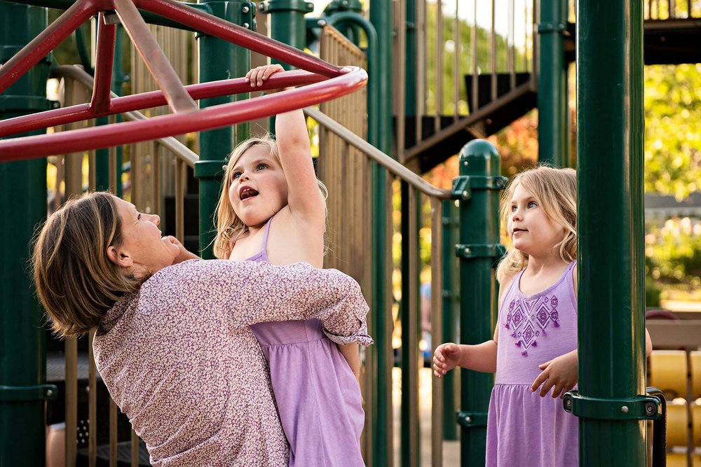 sharon kenney family photography mountain view playground