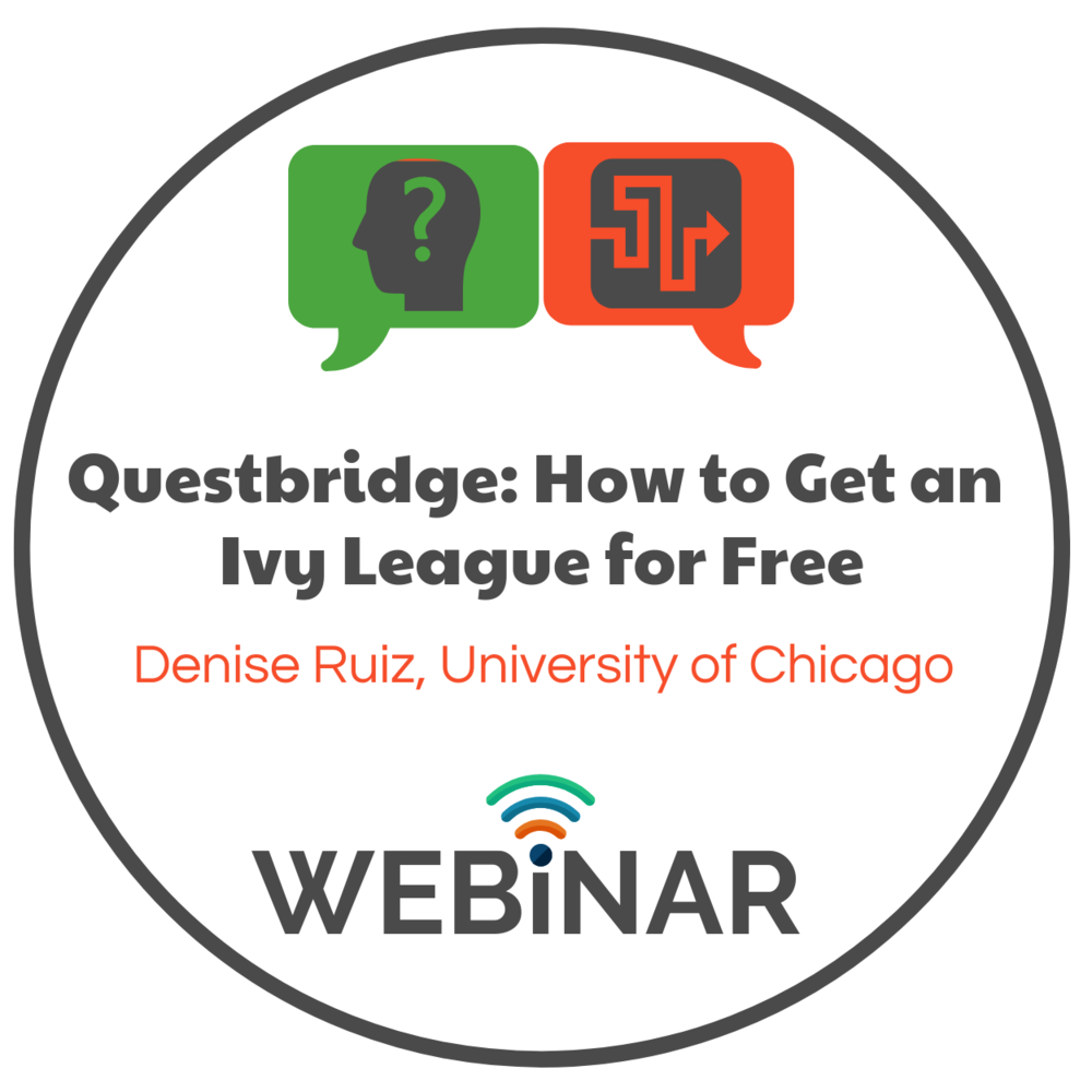 Questbridge recipient and ambassador, Denise Ruiz from University of Chicago and Florida SouthWestern Collegiate High School-Lee, discusses her path to a full-ride.