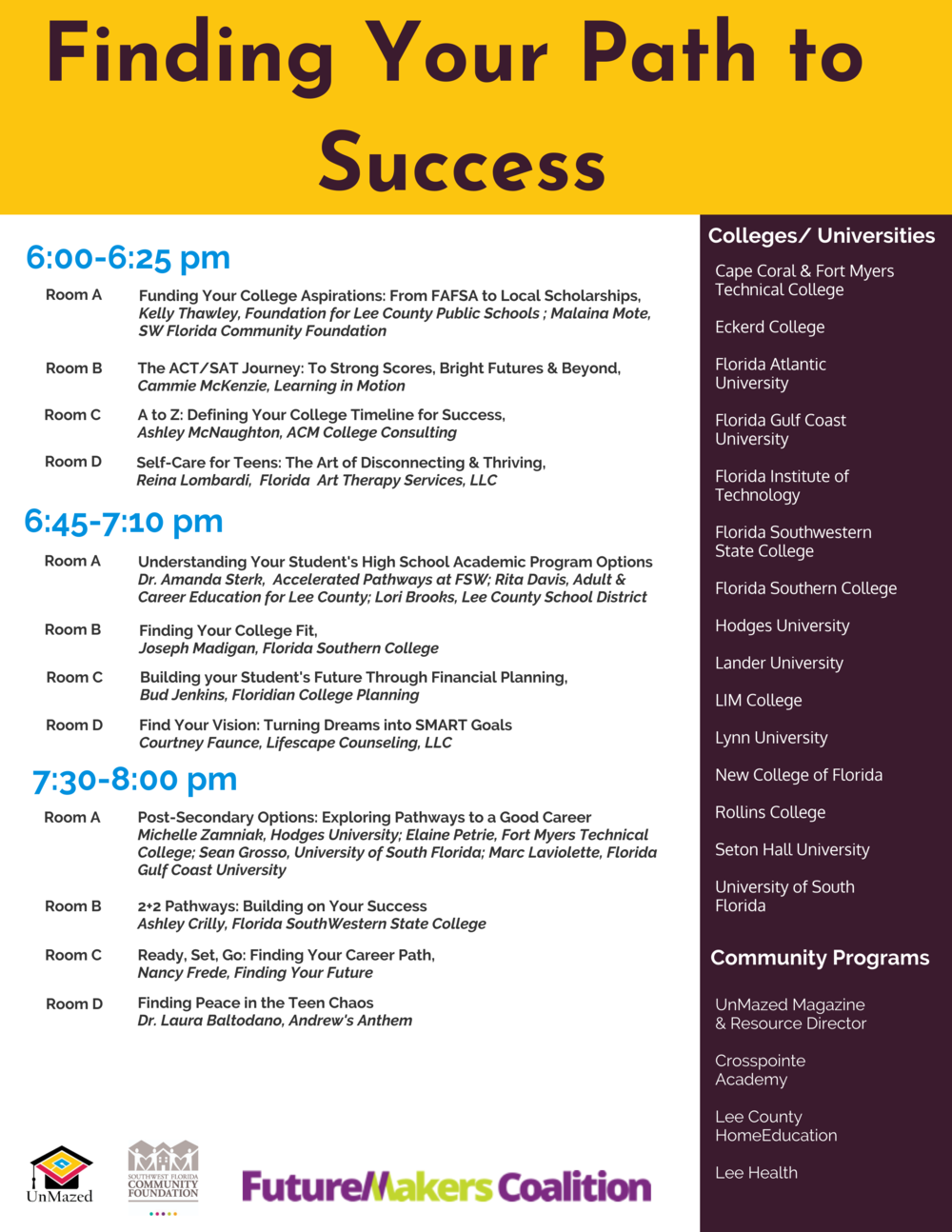 Finding Your Path To Success Agenda Handout.png