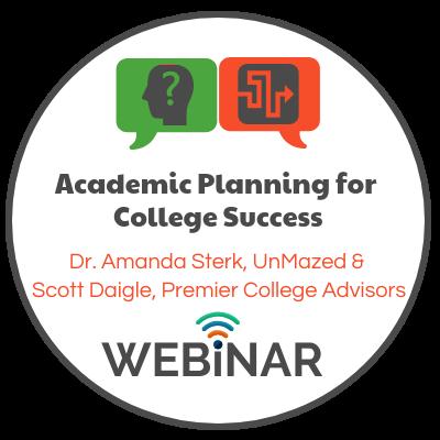 Dr. Amanda Sterk & Scott Daigle, from Premier College Advisors, discusses how various high school academic programs affect college admissions. Topics: Dual Enrollment, Cambridge AICE, International Baccalaureate & Advanced Placement.
