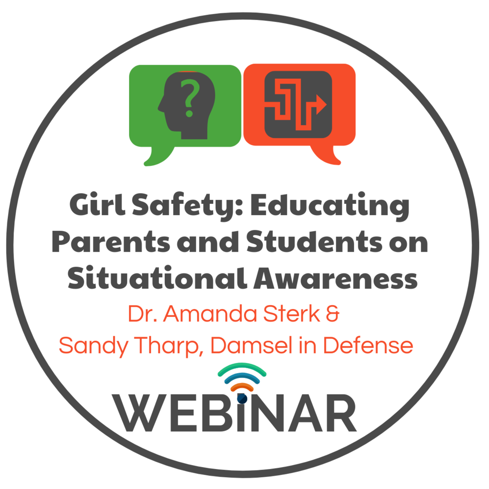 In the U.S., one in three women and one in six men experienced some form of contact sexual violence in their lifetime. Learn how situational awareness and specific tools can prevent you from becoming a victim.  Dr. Amanda Sterk & Sandy Tharp, from Damsel in Defense