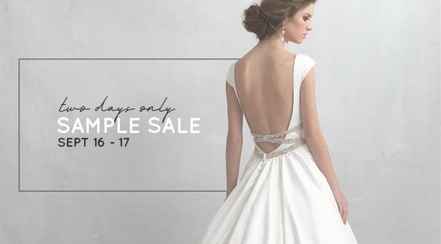 Wedding Dress Sample Sale.Two Days Only Bridal Sample Sale Ferre Sposa