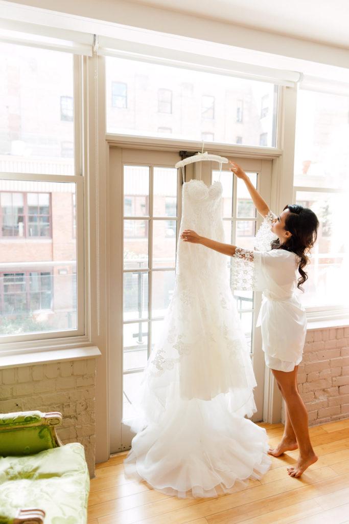 Aya sato wedding dress