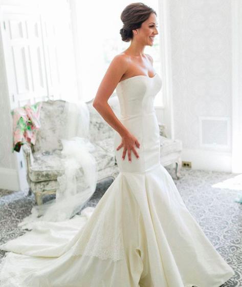 #ferrebride Krysta wearing Allure Bridals