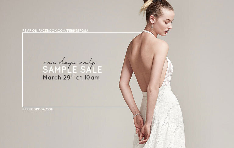 Storewide Bridal Sample Sale One Day Only Ferre Sposa,Wedding Dresses In Oklahoma City