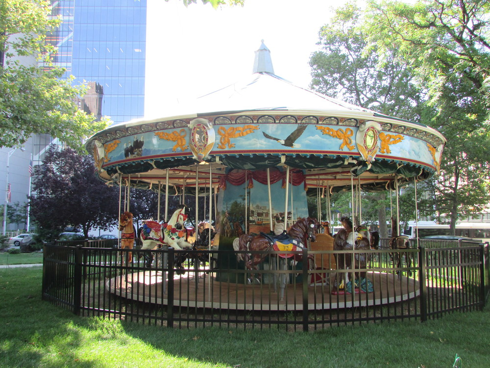Military Park Carousel Parties