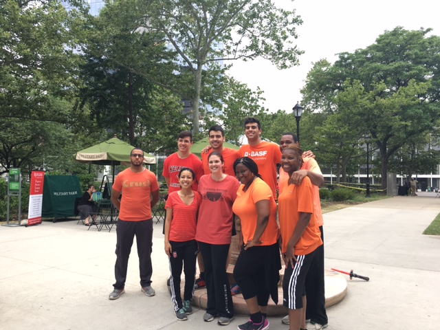 Adult Kickball League Military Park