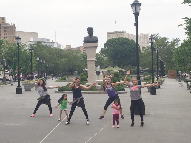 Zumba with Maria of I'm So Yoga in Military Park