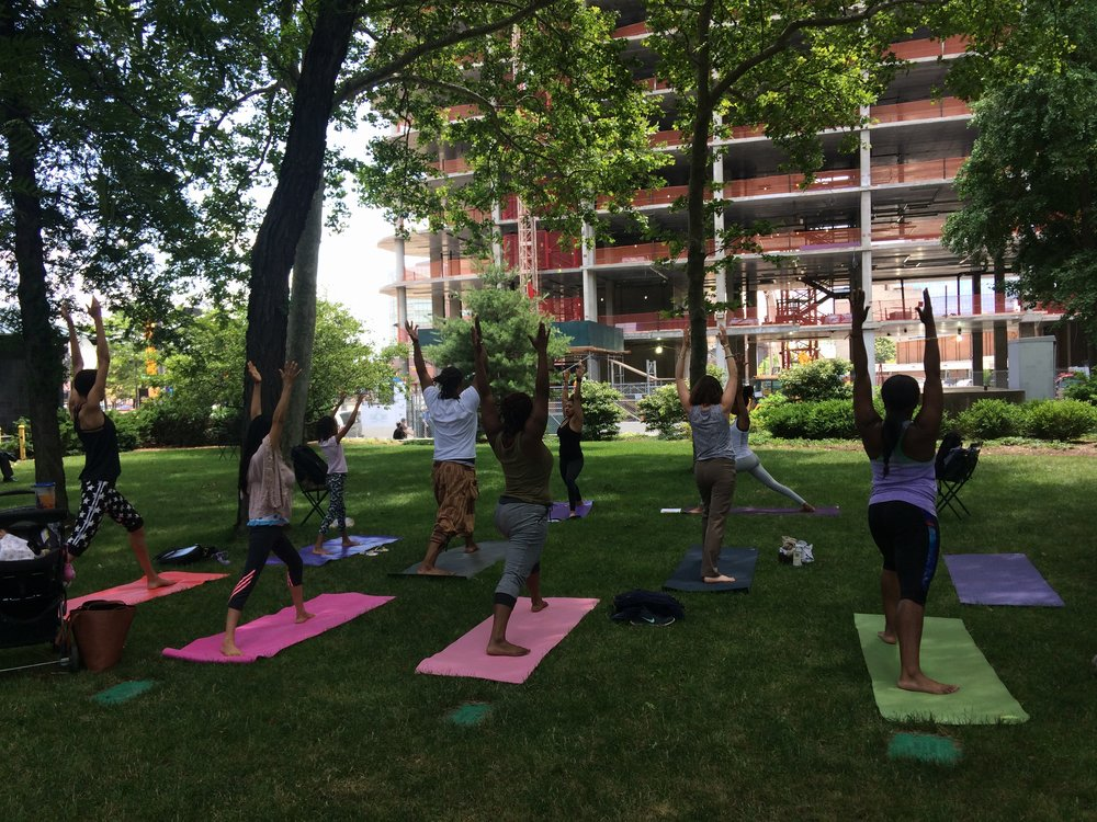 Pilates with Ayasha in Military Park