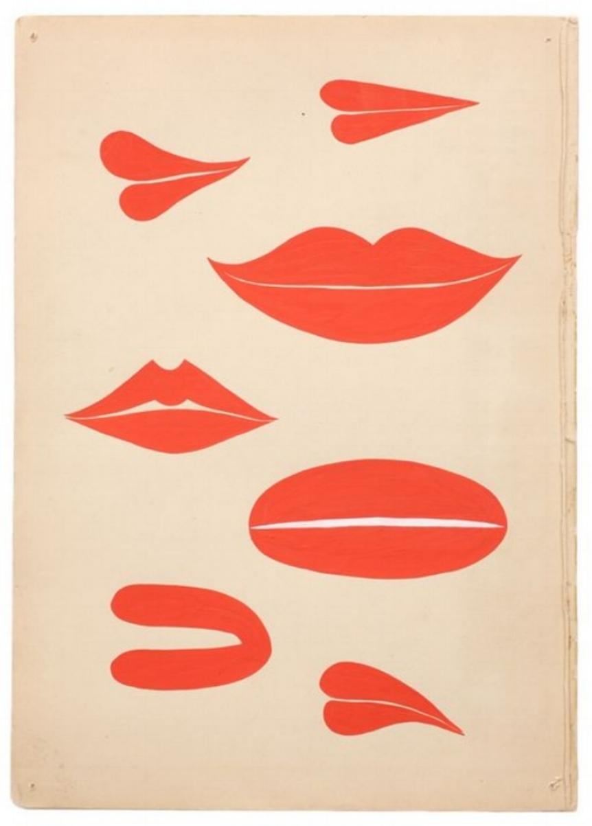 Margaret Kilgallen lips