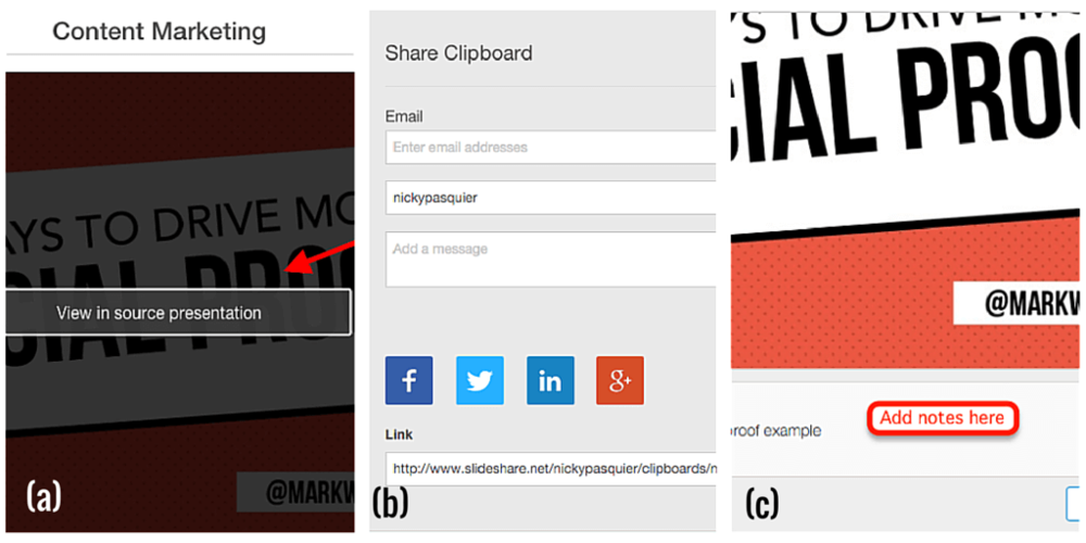 Share SlideShare Clipboards
