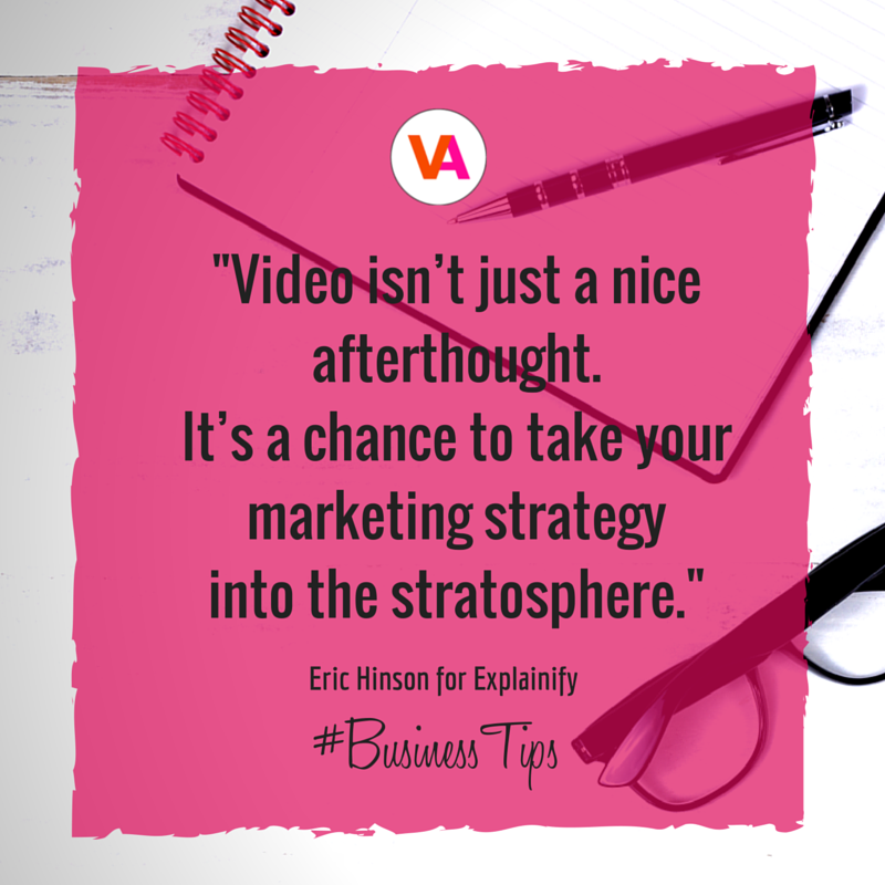 Video Marketing Tip