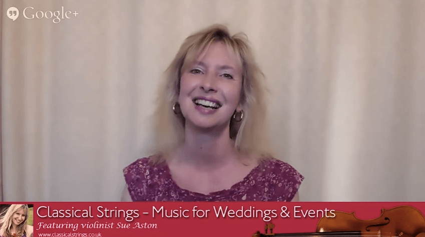 Sue Aston at Classical Strings